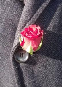 roos in knoopsgat